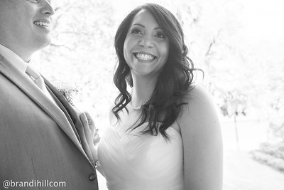 Bryan and Liana's First Look Portraits