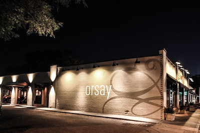 Reception at Orsay Restuarant