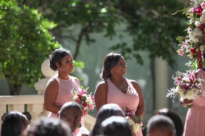 Mike and Lakiesha's Ceremony, The Addison, Boca Raton, Florida