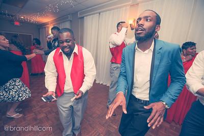 Tyla and Brannon Johnson's Wedding Reception