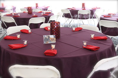 Table Tops, Wedding Events