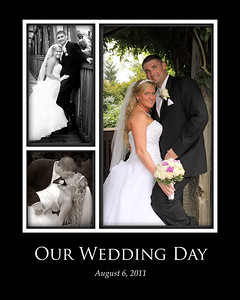 8x10 wedding photo collage