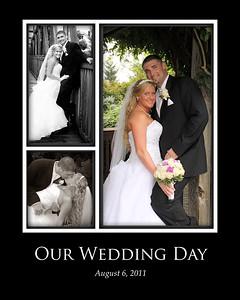 8x10 wedding photo collage