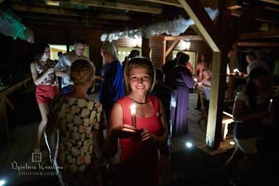 Kāzu svinības viesu namā Zaļie atvari Līvbērzes pagastā