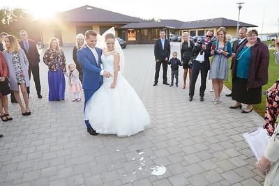 Kāzas Elīna un Lauris
