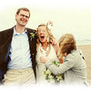 Confetti isn't allowed at Cley Windmill so for this couples day we took it down to their Wedding reception at Cley Beach