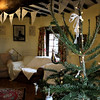 Cley Windmill Ceremony room at Christmas