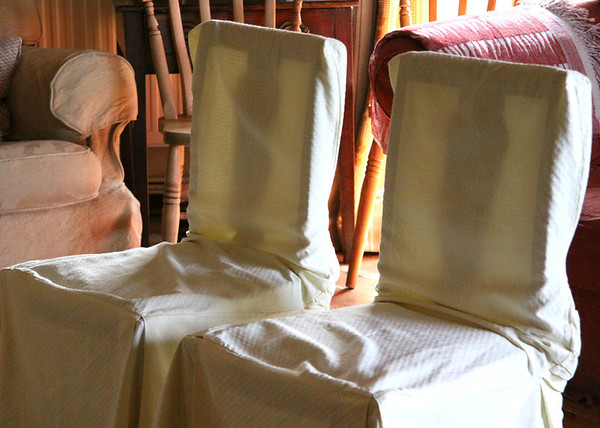 The couples ceremony chairs at Cley Windmill