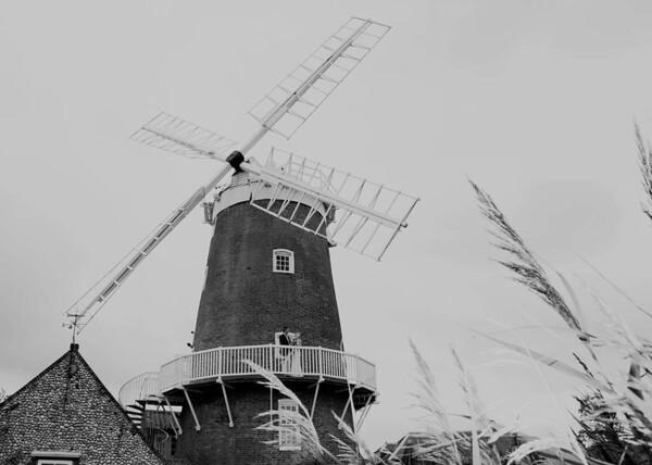 A wedding at Cley Windmill