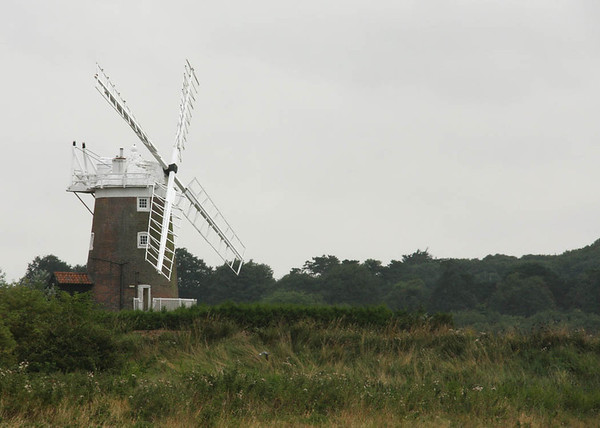 Cley Windmill from the beach direction