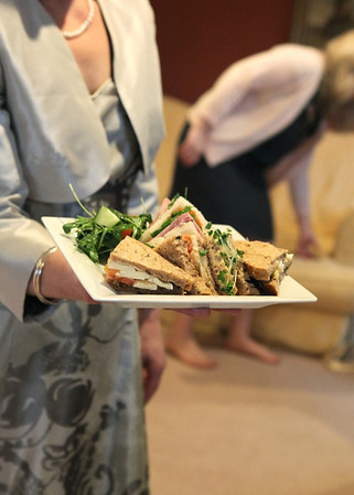 Lunch at Cley windmill before a winter wedding ceremony