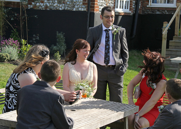 A wedding reception at Cley Windmill
