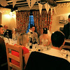 Speeches at a winter wedding at Cley Windmill