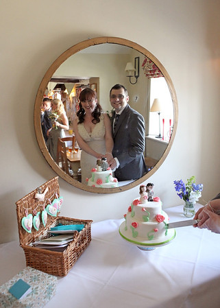 A cake cutting at Cley Windmill