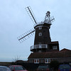Cley Windmill on a wintery evening