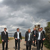 The boys off to the local pub for a quick drink before the ceremony at Cley Windmill