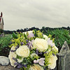 A beautiful bouquet that fitted in perfectly with the feel at Cley Windmill