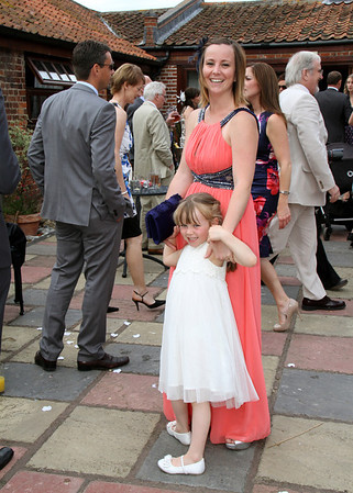 A wedding reception at Dairy Barns