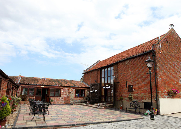 Dairy Barns from the courtyard