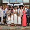 A formal group shot at Dairy Barns