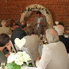 A best man giving his speech at Dairy Barns
