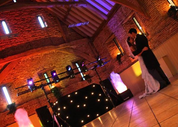 A first dance at Elms Barn