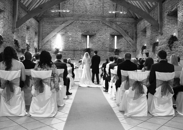 The Ceremony room at Elms Barn