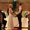 A ceremony at Elms Barn