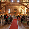 Waiting for the bride to arrive at an Elms Barn Wedding