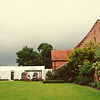 A stormy day for a wedding at Elms Barn
