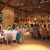 A wedding breakfast at Elms Barn