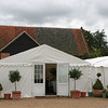 The Main marquee with an additional marquee added on at Elms Barn