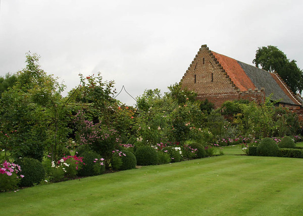 Some of the gardens at Elms Barn