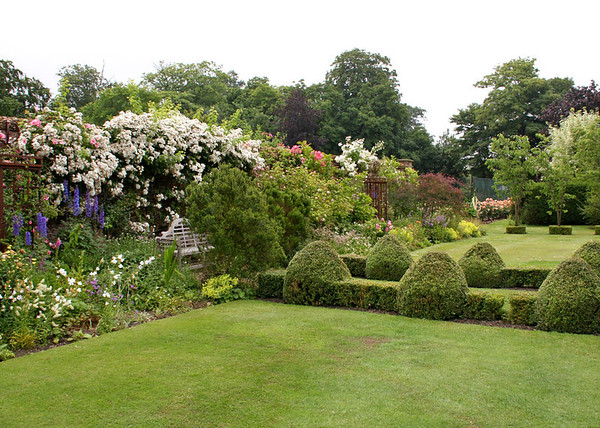 Some of Elms Barn's gardens