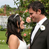Gorgeous photo of a couple very much in love at Elms Barn in the gardens