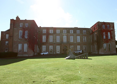 Glemham Hall on an autumnal wedding day