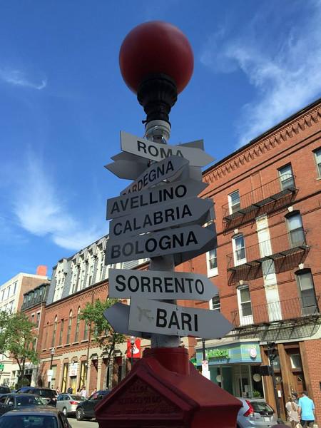 North Boston is a predominantly Italian neighborhood.