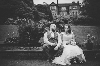 Natural Wedding photos at MereWood Hotel.  Lake District Wedding Photographer