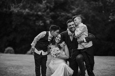 Family Wedding Photos in Lake District. Wedding photographer