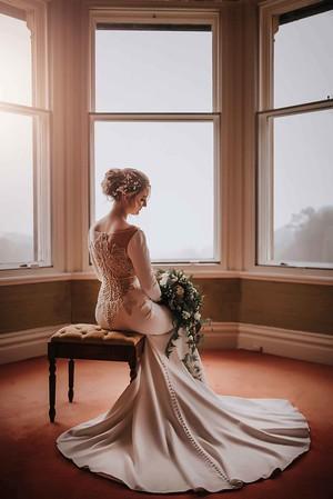 Award Winning Bridal Portrait at Merewood Wedding Photography. Lake District Wedding Photographer