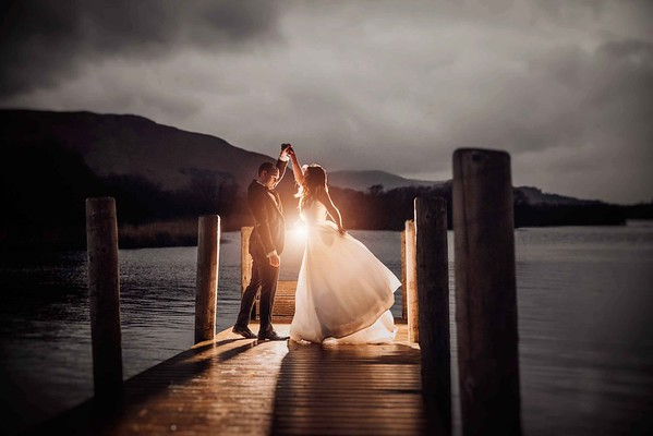 Magical Wedding Photos at Lodore Falls Hotel. Lodore Falls photographer