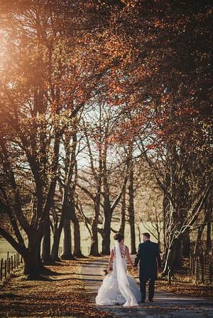 Autumn wedding at Villa Levens