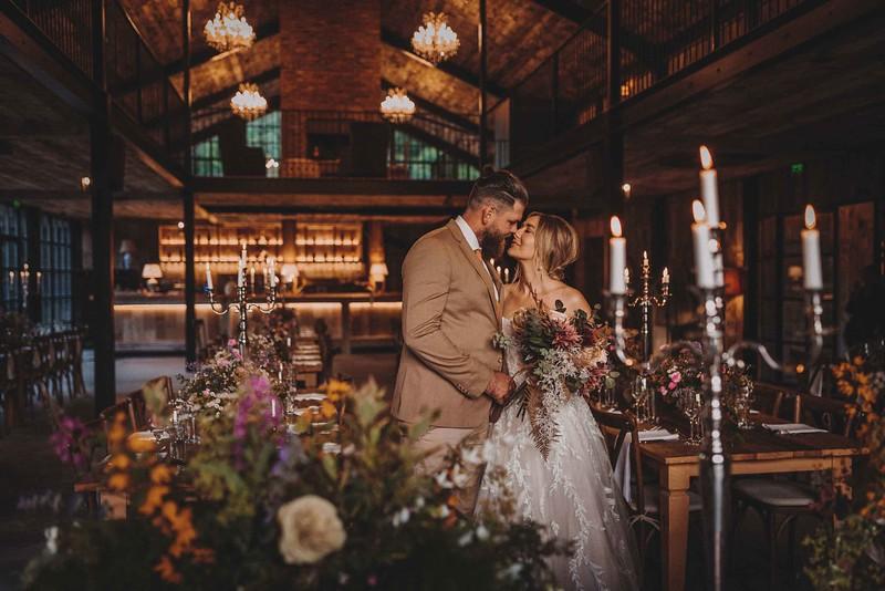 Stunning Boho Wedding photos in Lake District. Hidden River cabins photographer