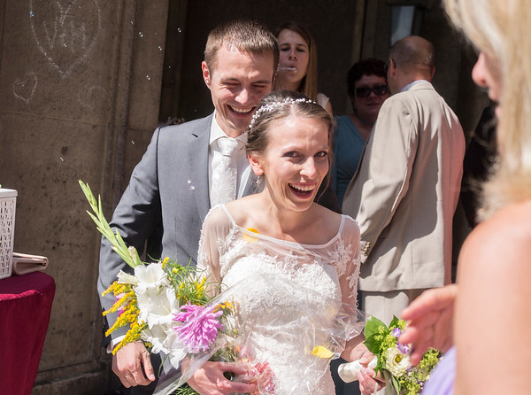 yey - we´re married.