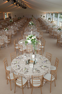 Wedding reception for 600 guests