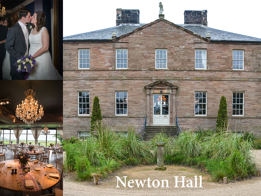 Newton Hall, located close to Newton by the Sea in Northumberland defines quirky in its room decor and is a special place for your wedding