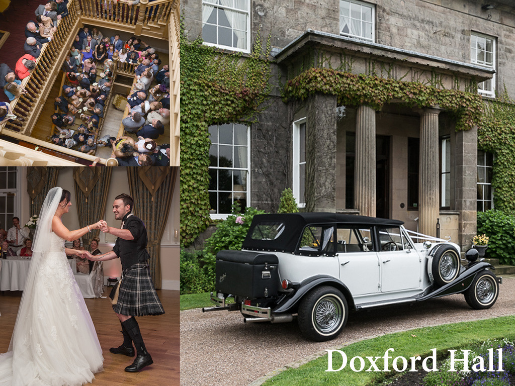 Doxford Hall is a fantastic venue, located North of Alnwick in Northumberland.<br /> This country house hotel is well worth being on yuor shortlist