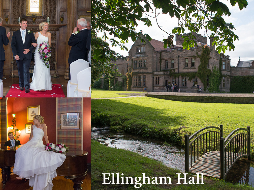 Ellingham Hall is located north of Alnwick in Northumberland and is a wonderful venue for your wedding, you hire the entire place for your wedding and experince country house living
