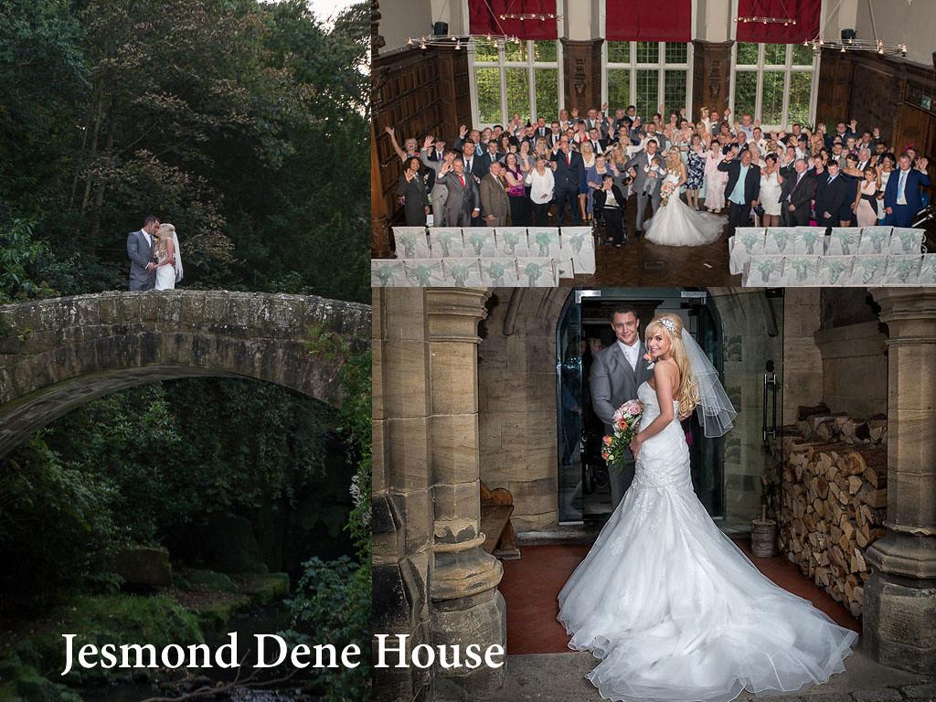 Jesmind Dene house near to Newcastle upn Tyne is a special wedding venue on the edge of Jesmond Dene itself