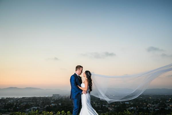 Becca and Josh   Marriott Marina Del Rey Wedding